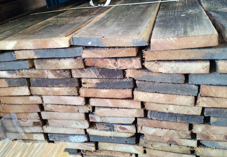 Grossiste vente bardage vieux bois for Type de bardage bois exterieur
