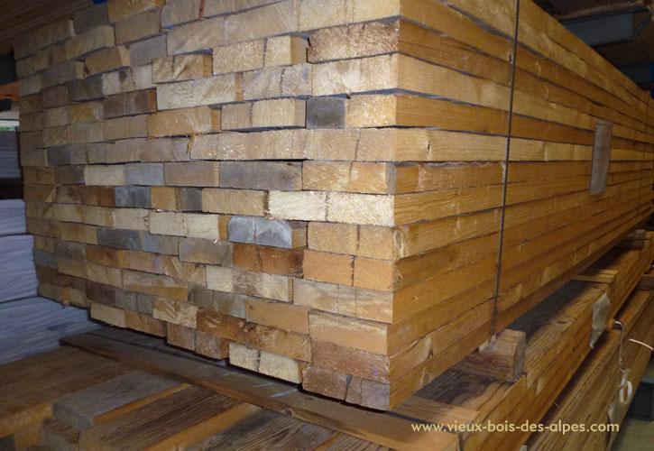 Madriers d doubl s vieux bois des alpes - Poutre en chene exterieur ...