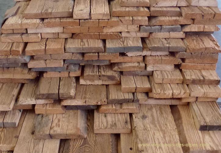 Madriers d doubl s vieux bois des alpes - Eclaircir poutre bois ...